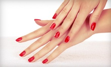 $27 for a Manicure Service with OPI Gel Colour Application at Merle Norman Cosmetic Studio Burnaby