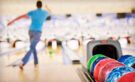 $7 for Two Games and Shoe Rental for Two at Shrewsbury Lanes