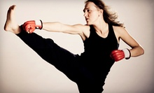 $5 for an 11:30 a.m. Kickboxing Class at MKG Martial Arts International