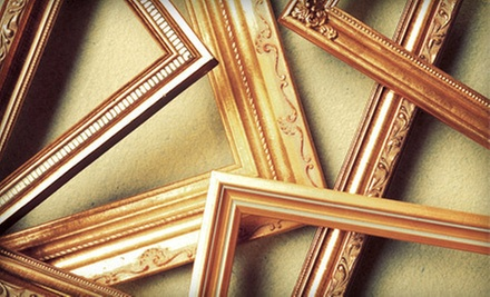 $49 for $100 Worth of Custom Framing at Woodland Art & Frame