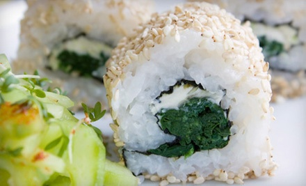 $15 for Hibachi Grill &amp; Sushi Buffet for Two at Yummy Buffet