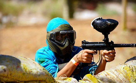 $31 for One CZP Paintball Package (Air, Admission, Marker, Mask) at Combat Zone Paintball