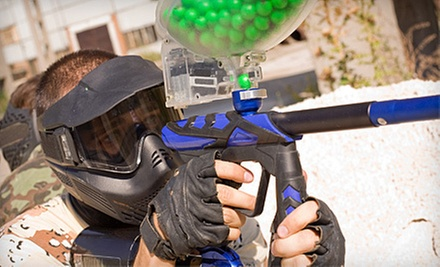 $19 for a Men's Admission, Equipment Rental, and 300 Rounds at Tempe Paintball