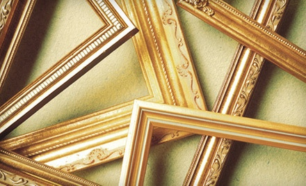 $35 for $70 Worth of Custom Framing at Middlesex Framing