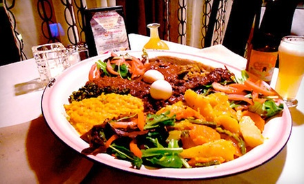 $7 for $12 Worth of Entrees at Red Sea Ethiopian Restaurant
