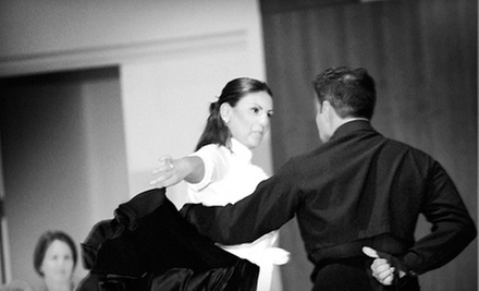 $18 for a Ballroom Dancing Group Class at 7:30 p.m. at I Dance 2 Ballroom Dancesport Studio