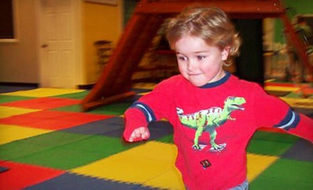 $5 for Open Play Ages 3-13 at PlayNation Parties & Playgrounds of Morrisville