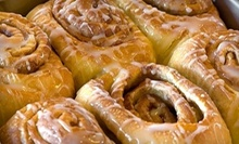 $20 for a Dozen Cinnamon Rolls at Cinnamons Bakery & Café