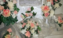 $279 for  15 Piece Silk Floral Wedding Package at TwinChetta Creations, Gifts & Novelties