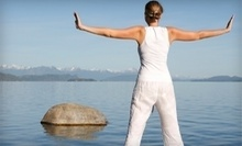 $8 for a  Drop In Yoga Class at 10 a.m. at Self Awakening Yoga Studio