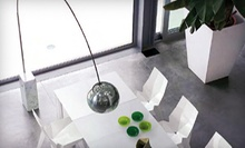 $350 for  an ARCO Lamp with White Marble Base at NEO Interiors at NEO Interiors
