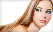 $79 for a Full Head of Highlights, Haircut & Style at Vella Salon and Day Spa