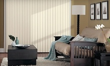 $89 for 3-Inch Vertical Blinds for One Window at Bugsy's Blinds