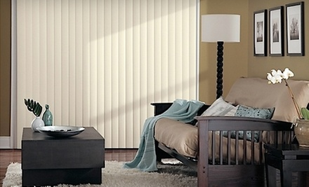 $165 for Sliding Door Blinds for One Door at Bugsy&#x27;s Blinds