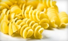 $30 for Half Pan of Pasta (Up to $40 Value)  at Angeno's Pizza &amp; Pasta