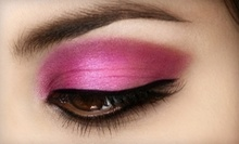 $40 for Makeup and Eyelash Application at Making Faces by Emilie