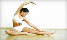 $10 for a Piloxing Class at 9:15 a.m. at Laughing Buddha Yoga Center