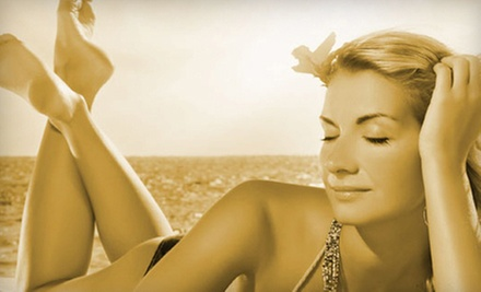 $25 for a Mystic Tan with Firming Moisturizer  at Solar Planet