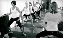 $10 for a BarreAmped Bootcamp Class at 9 a.m. at Sphericality