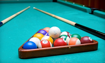 $10 for $20 Worth of Pool Time at Jester&#x27;s Billiards