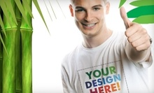 $25 for 2 Custom T-Shirts at Big Frog Custom T-Shirts Durham