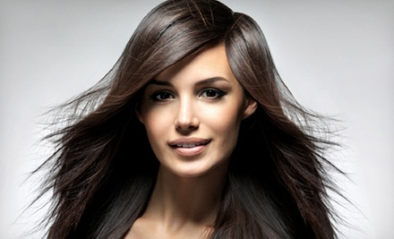 $29 for a Haircut with Moroccan Oil Treatment & Blow Dry at Meridians