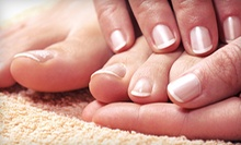 $30 for a Mani / Pedi with a Glass of Wine at Roberto Giordano