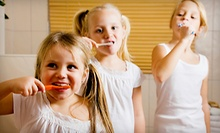 $60 for Kid's Cleaning, Exam, Bitewing X-Rays, & Fluoride Treatment at Merry Dental Care Center