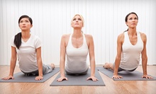 $13 for a Drop In Yoga Class at 10 a.m.  at Life Yoga