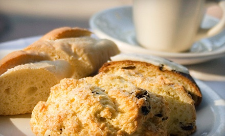 $7 for Bag of Scones &amp; Two Small Coffees at Elwin &amp; Co