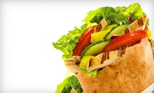 C$7 for any Pita & a Soft Drink at Pita Pit in Langley