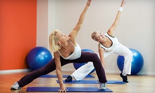 $7 for a 1-Hour Mat Pilates Class at 6:30 a.m.     at Tracy's Personal Training and Fitness Studios