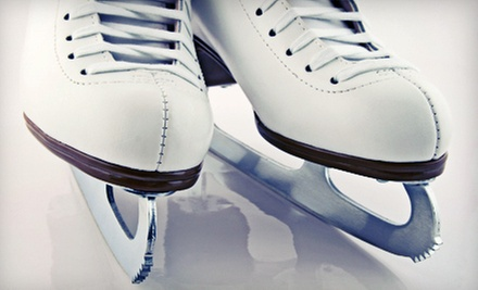 $15 for Open Skate Admission with Ice Skate Rental For Two  at La Jolla Ice Town