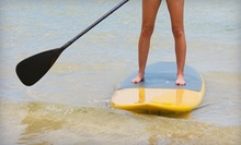 $12 for a One-Hour Stand-Up Paddle Board Rental at Life's A Beach Watersports