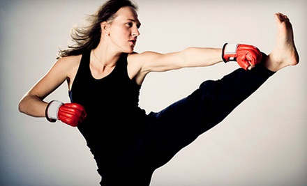 $6 for a Drop In Level 2 Kickboxing Class at 7 p.m.  at Illinois Martial Arts Academy