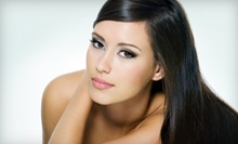 $35 for Papaya Enzyme Protein Treatment and Style at Shear Design Salon And Spa