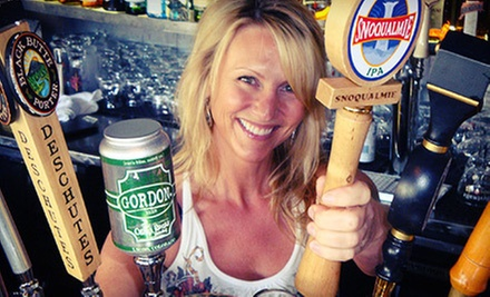 $18 for 2 Apps, 2 Pints, & Take Home Growler For 2 (Up to $35 Value) at Snoqualmie Brewery and Taproom