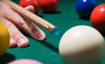 $6 for 1 Hour of Pool at Society Billiard Cafe