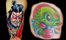 $60 for $100 Worth of Tattoo Services at Voodoo Tattoo
