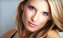 $75 for  a Partial Highlight or Single Process Color, a Gloss & Cut at Gina Marie