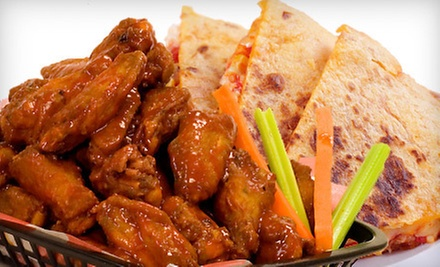 C$4 for One Pound of Wings at The Silver Dollar Room