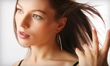 $65 for Haircut, Cond. Treatment, Scalp Massage & Partial Highlights at Luscious Locks