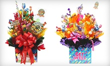 $30 for Candy Bouquet at Sugar Shack Candy Bouquet