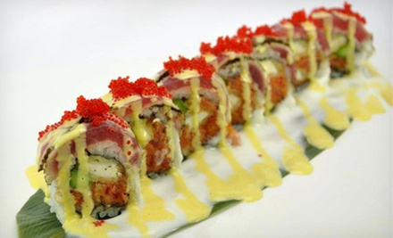 $10 for $20 at Sumo Sushi House