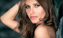 $60 for Full Highlights with a Haircut  at Lady Luxe Hair Saloon San Diego