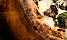 $24 for Wood Fired Pizza Dining for Two at Red Tomato Pizza