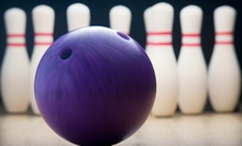 $19 for Two Games of Bowling with Shoe Rental for Up to Four People at Cowtown Bowling Palace