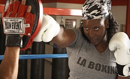 $10 for a One Hour Boxing Class with Hand Wraps at 4 p.m. at LA Boxing San Francisco