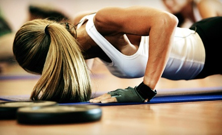 $5 for 7:15 pm Boot Camp at Will Power Health & Fitness
