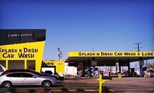 $10 for One Preferred Wash at Splash N Dash Car Wash